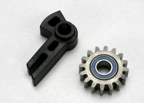 Traxxas Gear idler/ idler gear support/ bearing (pressed in)