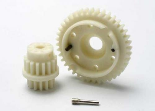 Traxxas Gear set 2-speed close ratio (2nd speed gear 40T 13T-16T input gears hardware)