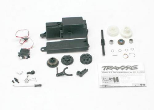 Traxxas Reverse installation kit (includes all components to add mechanical reverse (no Optidrive) to Revo) (includes 2060 sub-micro servo)