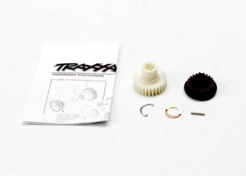 Traxxas Primary gears forward and reverse/ 2x11.8mm pin/ pin retainer/ disc spring