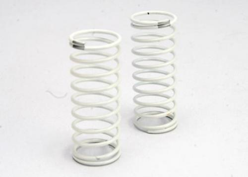 Traxxas Spring shock (white) (GTR) (rear) (1.2 rate silver) (1 pair)