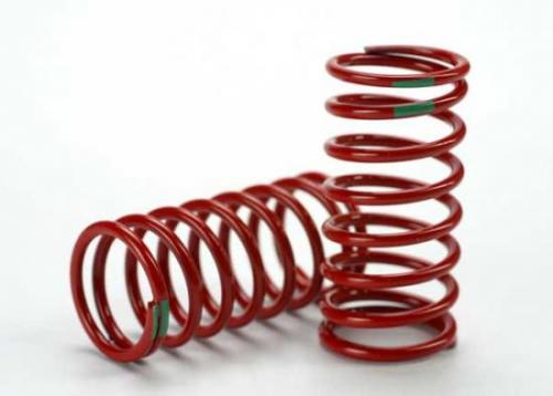 Traxxas Spring shock (red) (GTR) (3.5 rate green) (1 pair)