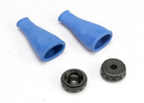Traxxas Shock dust boot (expandable seals and protects shock shaft) (1 pair)