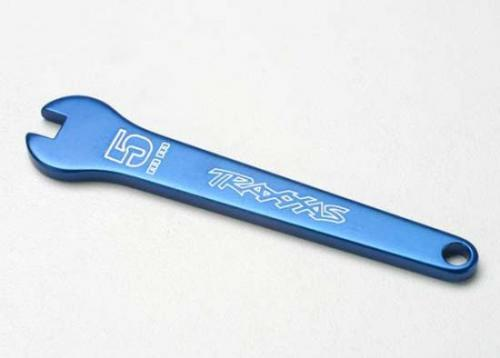 Traxxas Flat wrench 5mm (blue-anodized aluminum)