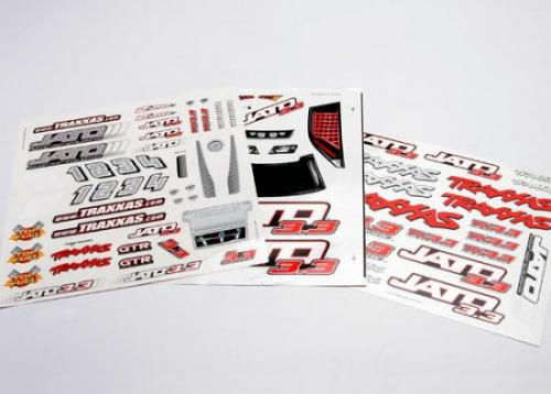 Traxxas Decal sheet Jato 3.3