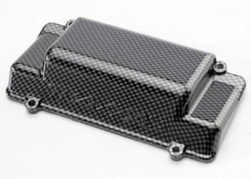 Traxxas Battery Box Cover bumper (rear) Exo-Carbon finish (Jato)