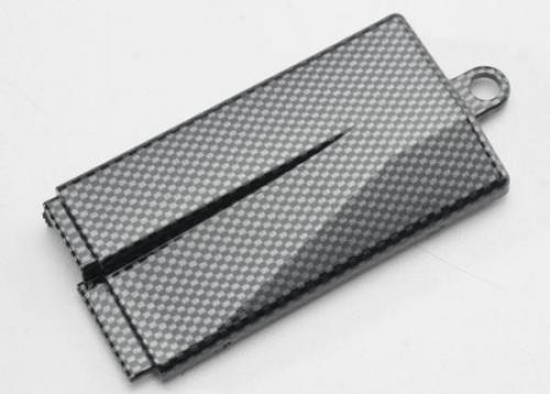 Traxxas Battery cover (mid chassis) Exo-Carbon finish (Jato)