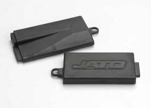 Traxxas Receiver box cover (for chassis top plate)/ battery cover (mid chassis)