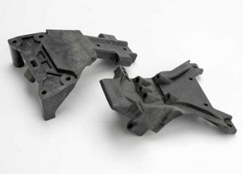 Traxxas Bulkheads front (upper lower)