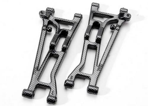 Traxxas Suspension arms front (left right) Exo-Carbon finish (Jato)