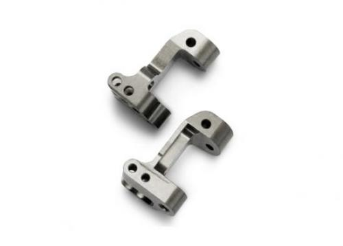 Traxxas Titanium-Anodized 6061-T6 Aluminum Caster Blocks 30-degree (left right)