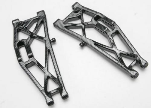 Traxxas Suspension arms rear (left right) Exo-Carbon finish (Jato)