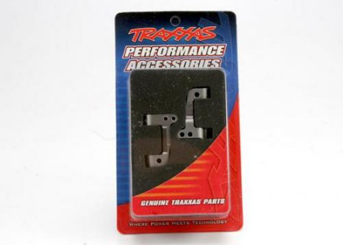 Traxxas Titanium-anodized 6061-T6 Aluminum Caster Blocks 25-degree (left right)