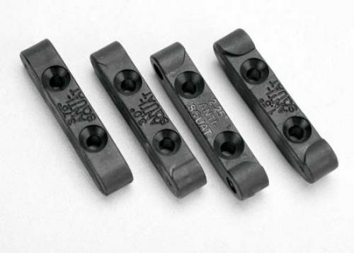 Traxxas Mounts suspension pin (rear anti-squat blocks) (1.5 2.25 3.0 3.75 degree) (1 each)