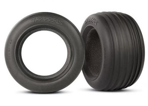 Traxxas Ribbed 2.8 Tires with foam inserts (2)