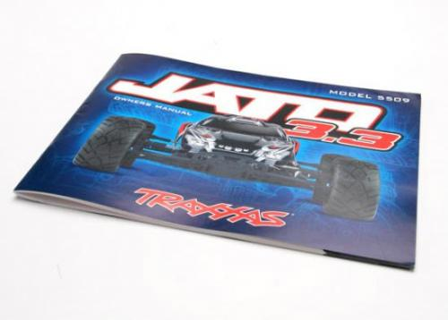 Traxxas Owners Manual Jato 3.3
