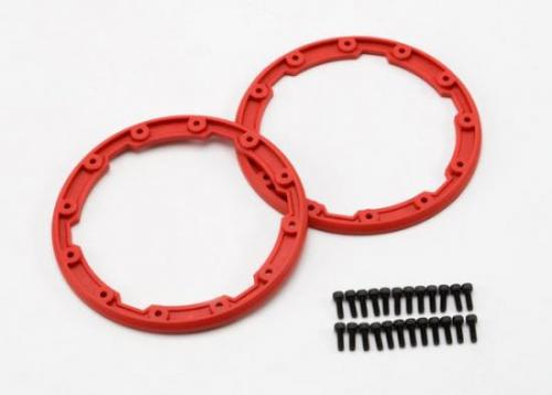 Traxxas Sidewall protectors red