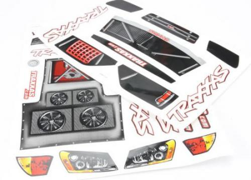 Traxxas Slash Decal Sheet