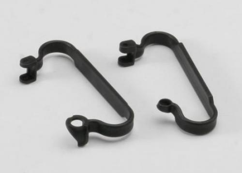 Traxxas Nerf bars chassis (black)