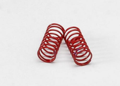Traxxas Spring shock (red) (GTR) (2.3 rate double purple stripe) (1 pair)