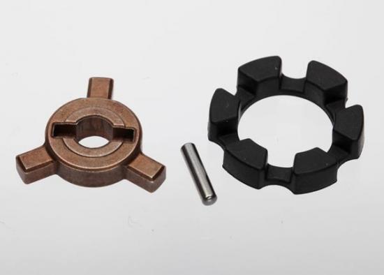 Traxxas Cush drive key/ pin/ elastomer damper