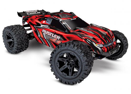 Traxxas Rustler 4X4 XL-5 Brushed (With Battery + Charger)