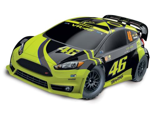 Traxxas Rally - Ford Fiesta ST Valentino Rossi