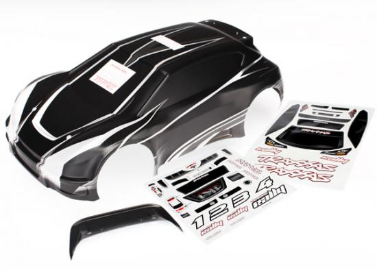 Traxxas Body 1/10 Rally ProGraphix (graphics are printed requires paint final color application)/ decal sheet