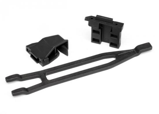 Traxxas Slash LCG Battery Expansion Kit - Battery hold-down tall (1)/ hold-down retainer front rear (1 each) (allows for installation of taller multi-cell batteries)