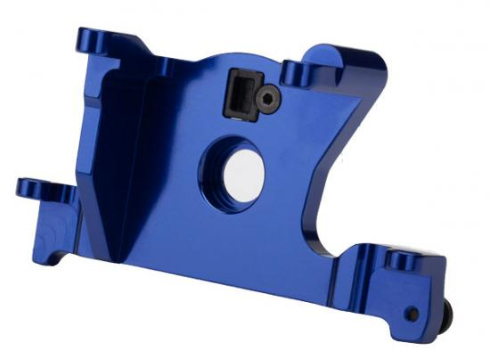 Traxxas Motor mount 6061-T6 aluminum (blue-anodized)