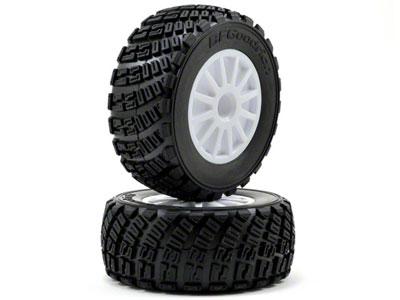 Traxxas Tires BFGoodrich Rally gravel pattern (2)/ foam inserts (2)