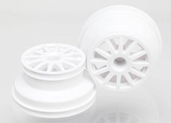 Traxxas Wheels white (2)