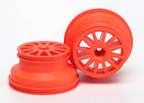 Traxxas Wheels orange (2)