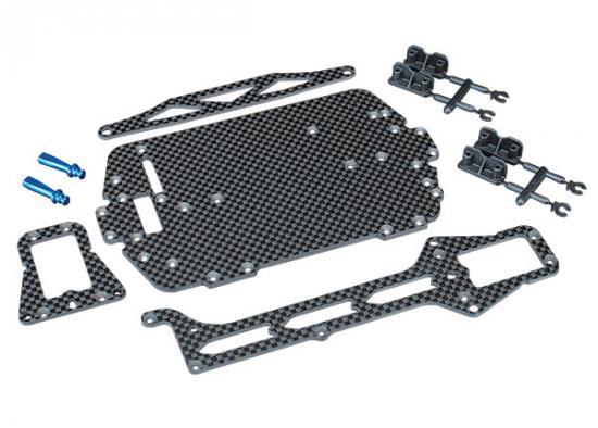 LaTrax Rally Carbon Fiber Conversion Kit