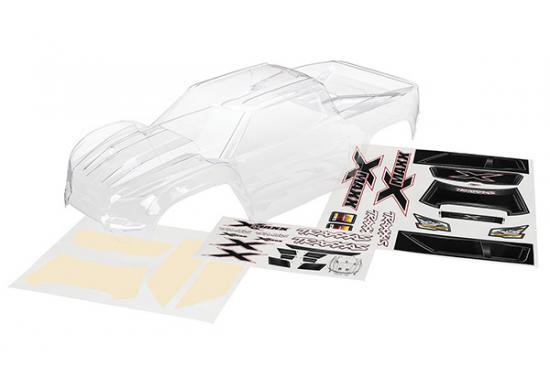Traxxas X-MAXX Bodyshell - Clear Unpainted
