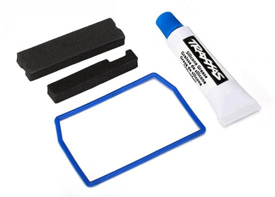Traxxas X-MAXX Seal kit receiver box (includes o-ring seals and silicone grease)