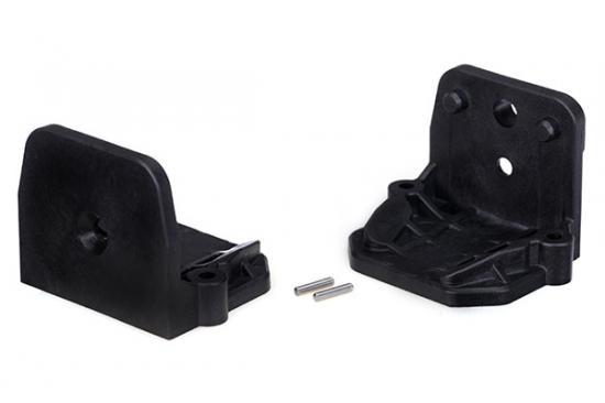 Traxxas X-MAXX Motor mounts (front and rear)/ pins (2)