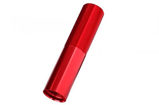 Traxxas X-MAXX Body GTX shock (aluminum red-anodized) (1)