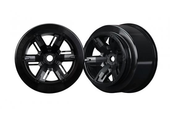 Traxxas Wheels X-Maxx black (left right)