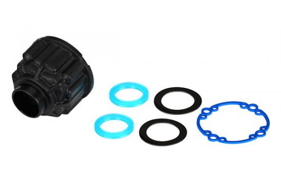 Traxxas X-MAXX Carrier differential/ x-ring gaskets (2)/ ring gear gasket/ 6x10x0.5 TW