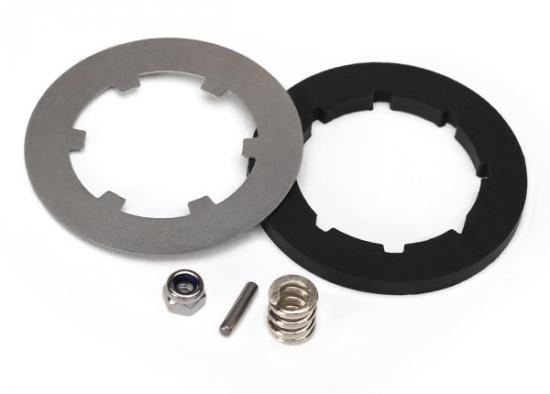Traxxas X-MAXX Rebuild kit slipper clutch (steel disc/friction insert (1)/spring (1)/2.5x12mm pin/4.0mm NL(1))