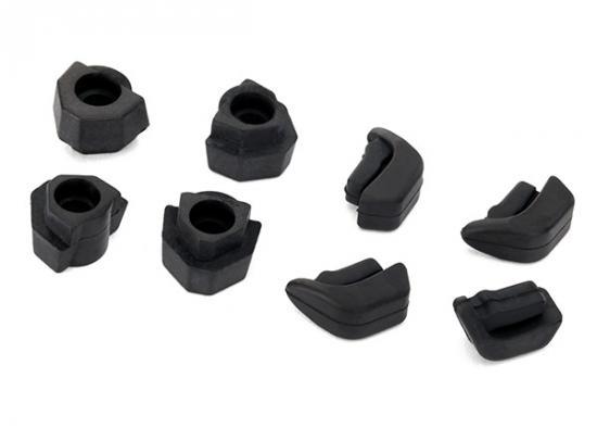 Traxxas Feet non-skid LED lens (4)/ landing gear (4)