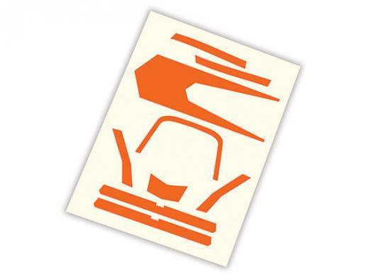 Traxxas Decals high visibility orange