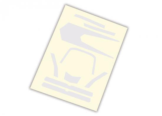 Traxxas Decals high visibility white