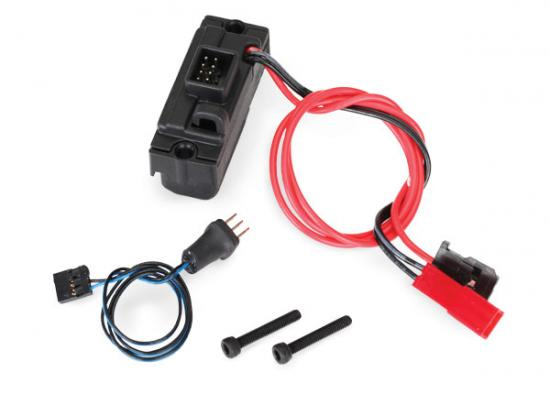Traxxas LED lights power supply (regulated 3V 0.5-amp) TRX-4/ 3-in-1 wire harness