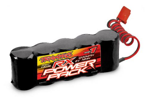Traxxas Straight Style Battery Power Pack - 1200mAh 6v