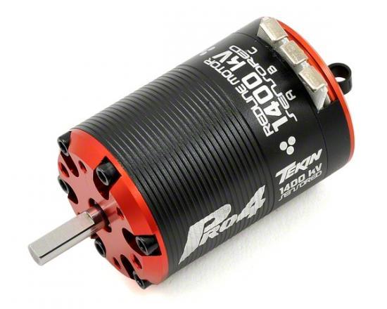 Tekin Pro4 BL 6D  1400kv, 540, 5mm shaft