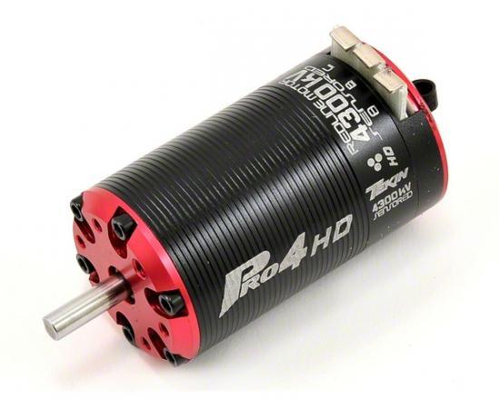 Tekin Pro4 HD BL 1.5D 4300kv, 550, 5mm shaft