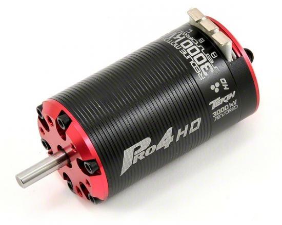 Tekin Pro4 HD BL 2D 3000kv, 550, 5mm shaft