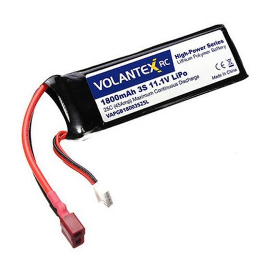 Volantex Blade 11.1V 1800Mah Lipo W/Deans (Brushless)